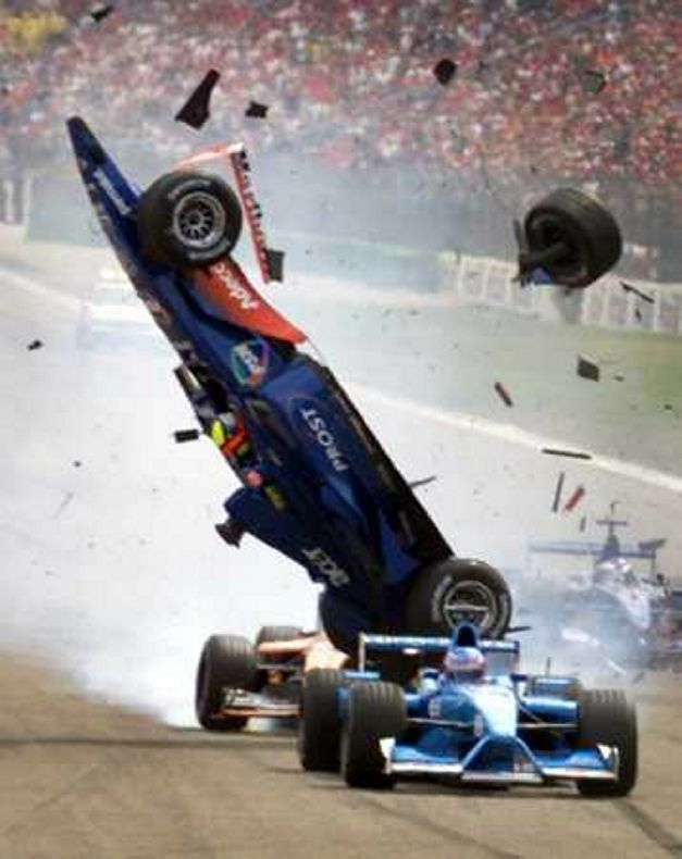 Incidente F1 foto 2
